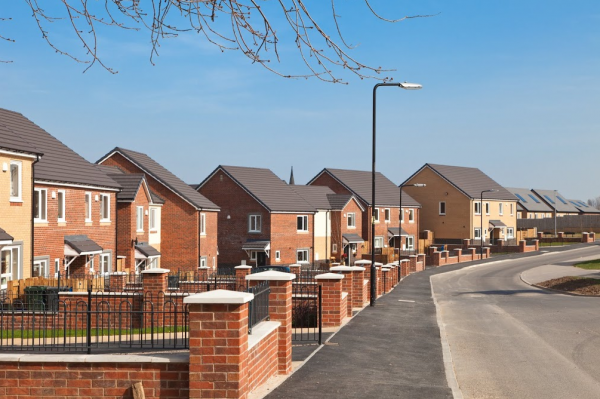 Turning pensions into property houses in the street