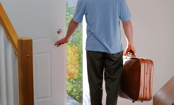 Tenant ending a tenancy agreement early and walking out.