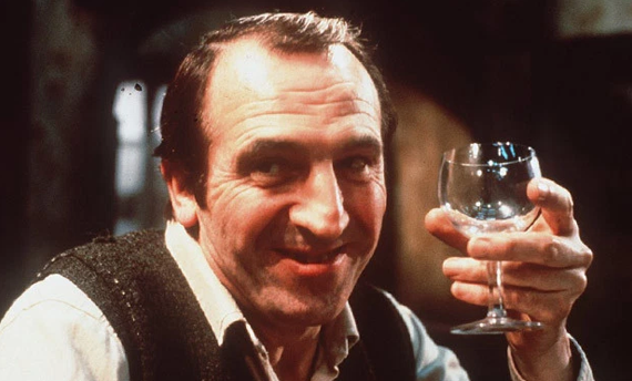 Leonard Rossiter's miserly Rigsby in the 70s TV sit-com Rising Damp