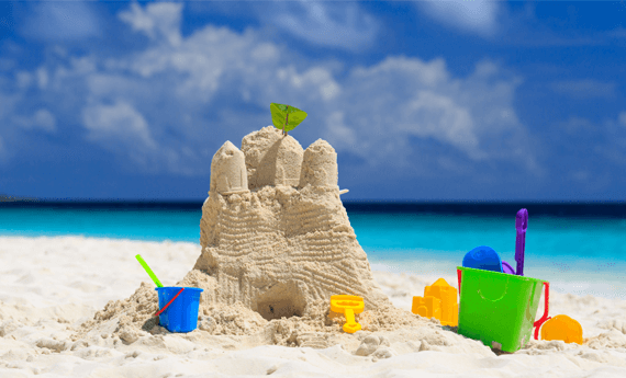 How to find tenants fast whislt they are building sandcastles on a beach