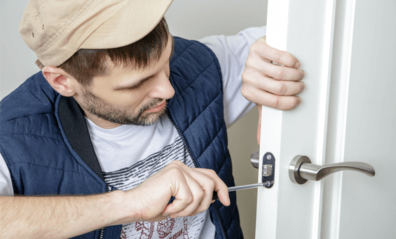 Tenant changing locks on a rental property without the landlords permission