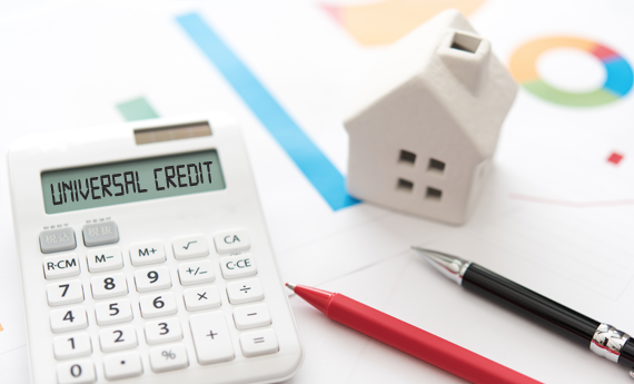 Calculating universal credit for tenants