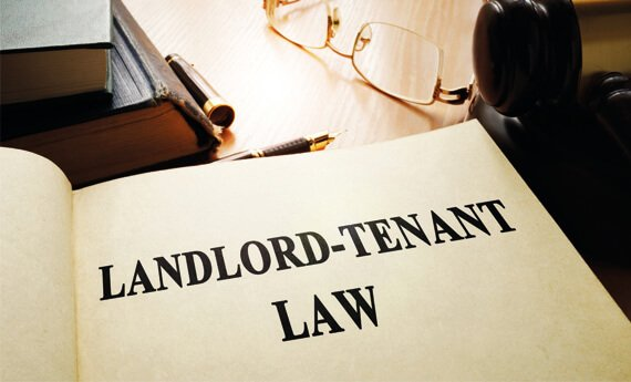 Open book on landlord repair responsibilities and landlord - tenant law