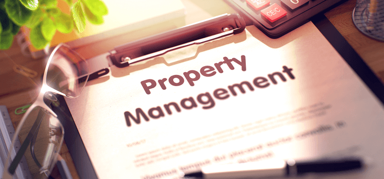 Property Management Clipboard Pen Glasses