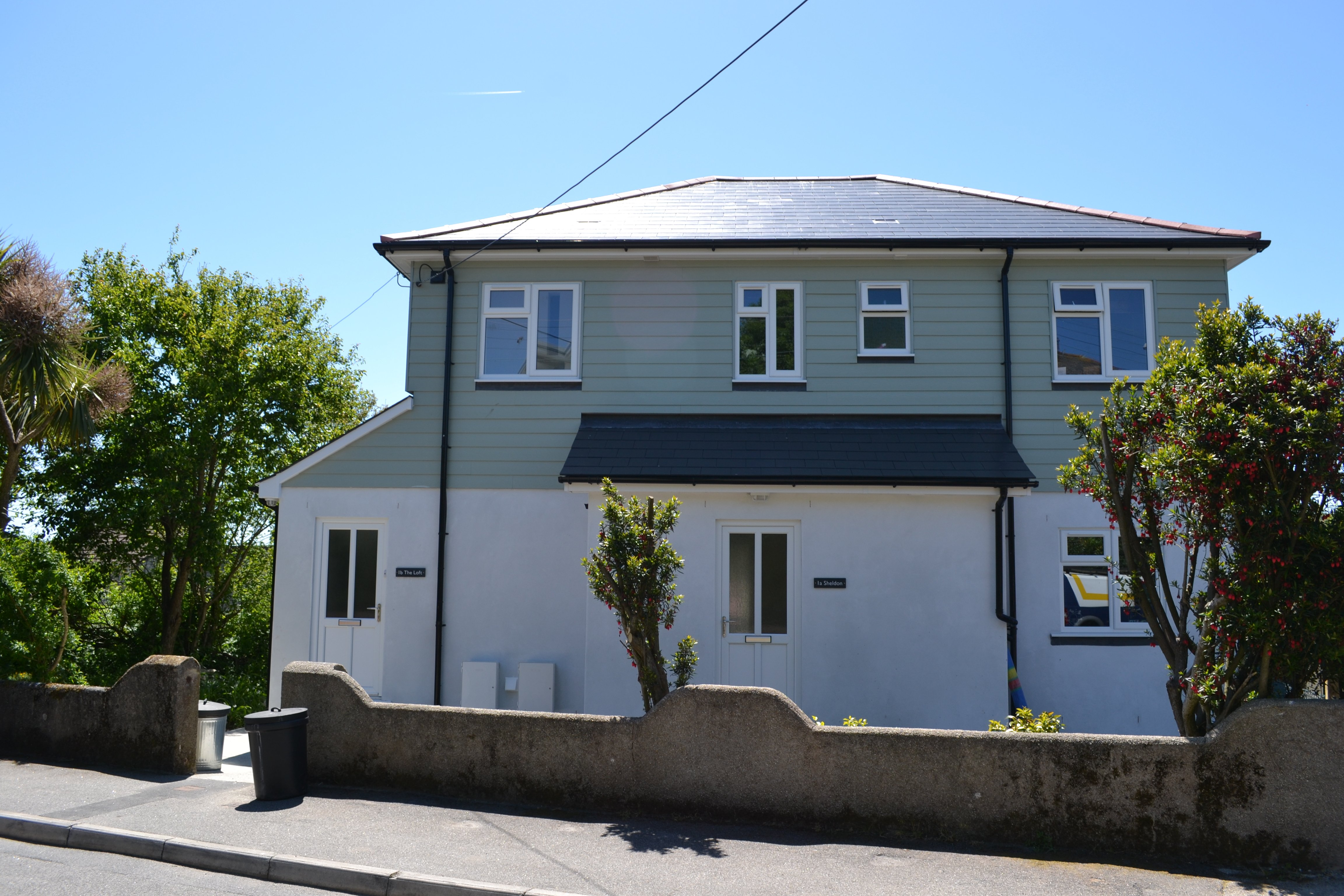 bedroom apartment to rent on tregenver villas falmouth cornwall by