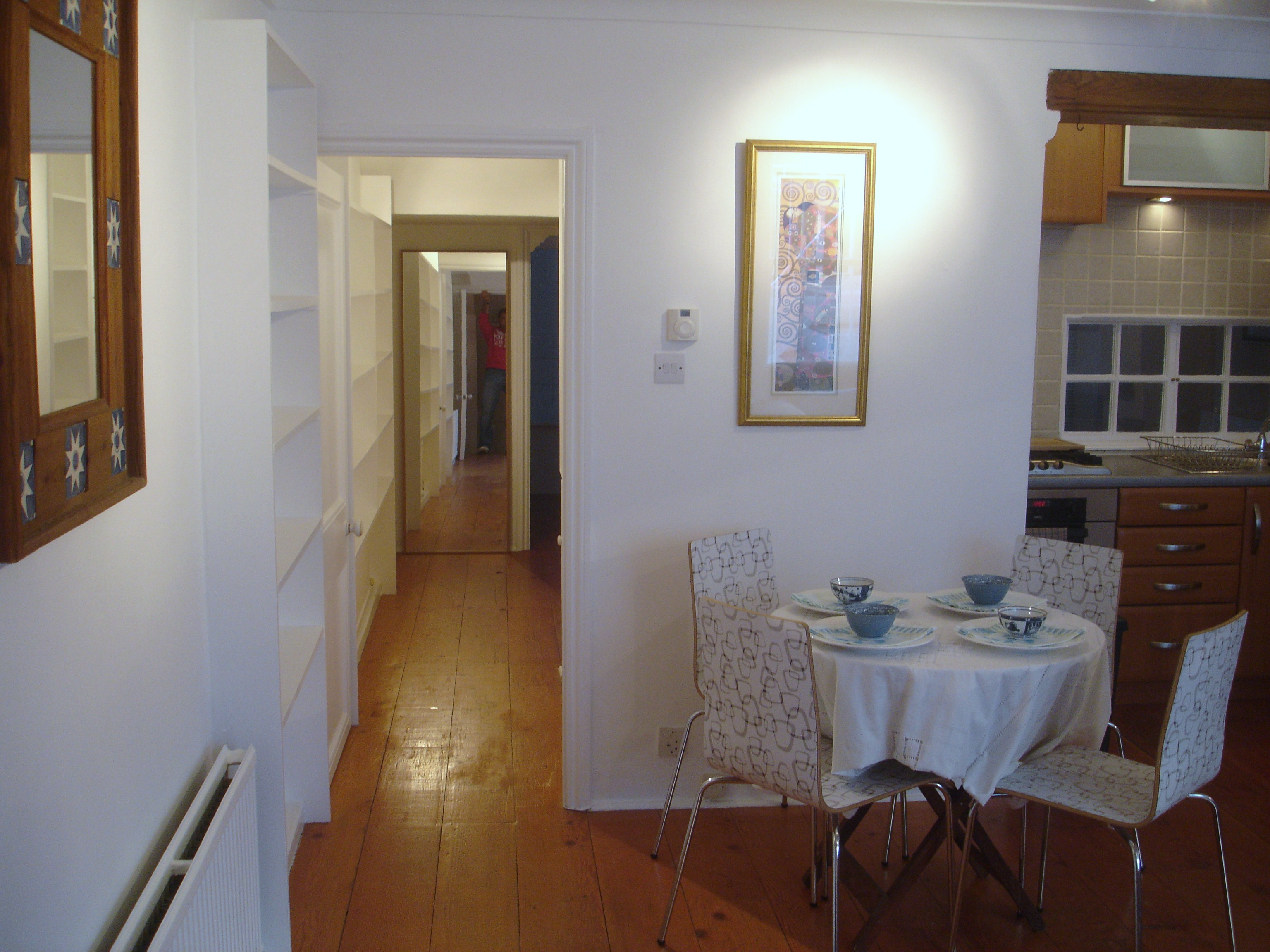 1 bed flat apartment ground maisonette to rent ton road