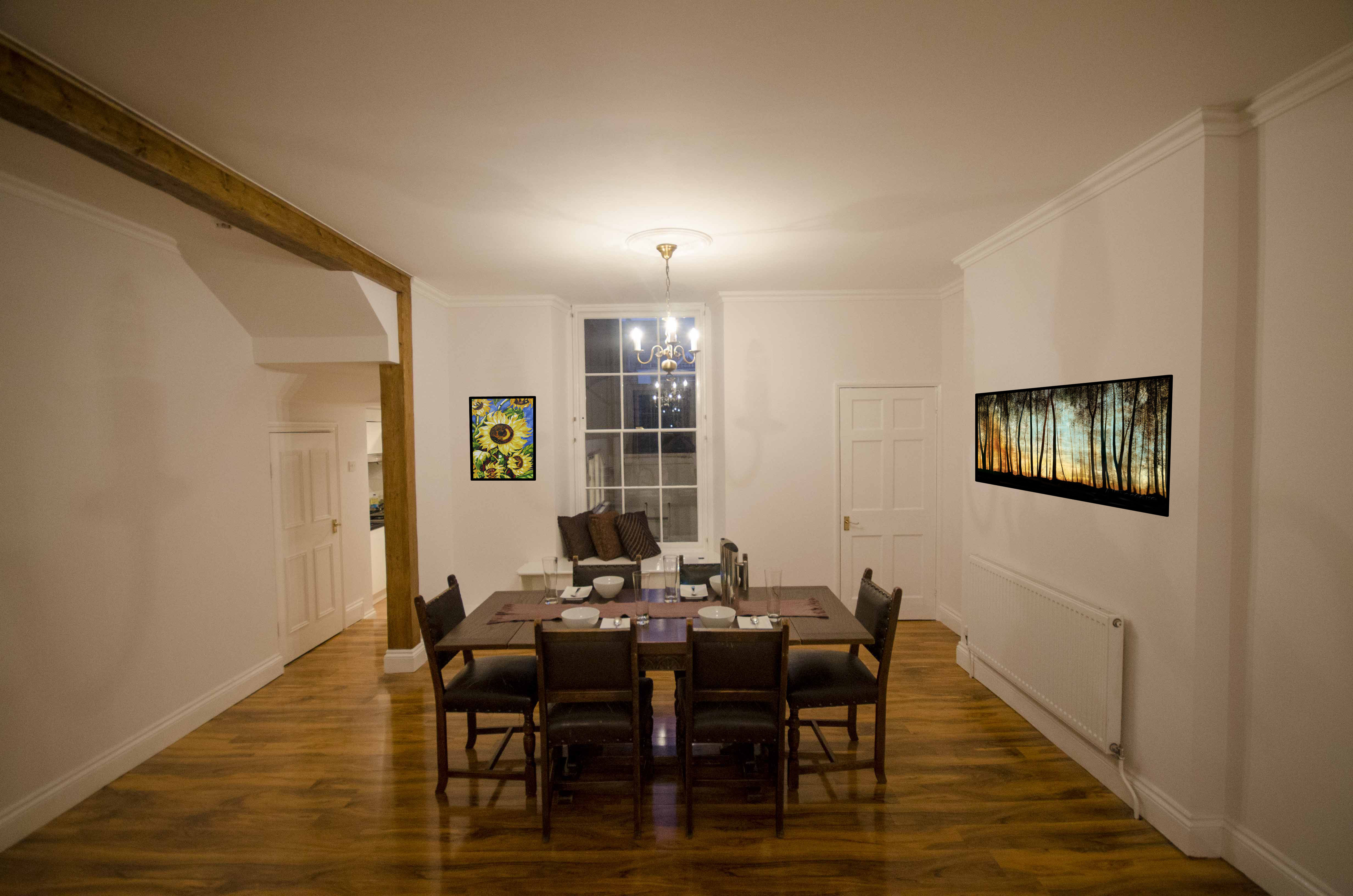 2 bed flat apartment ground flat to rent royal york for Best private dining rooms bristol