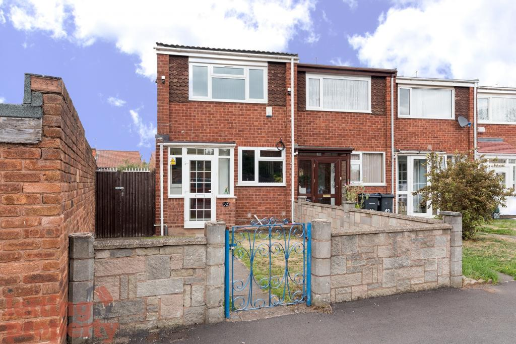 2 Bed House End Of Terrace To Rent Oxford Close Birmingham B8 2je