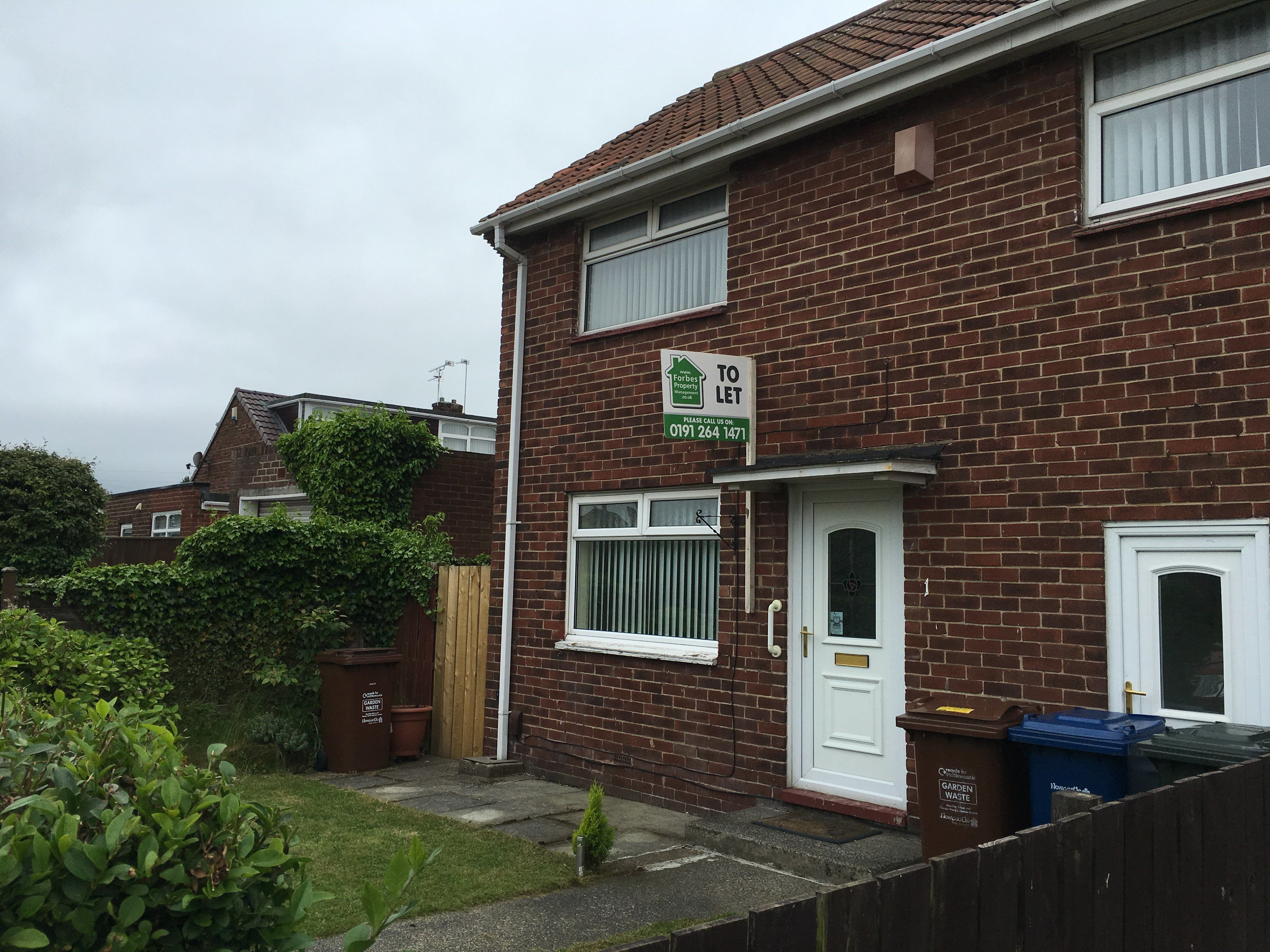 bedroom unfurnished semi detached to rent on marsham road newcastle
