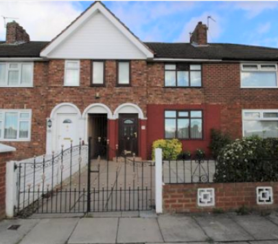 3 bedroom Unfurnished Terraced to rent on Marshfield Road, Liverpool, Merseyside, L11 by private landlord