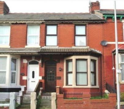 4 bedroom Unfurnished Terraced to rent on Keswick Road, Blackpool, Lancashire, FY1 by private landlord